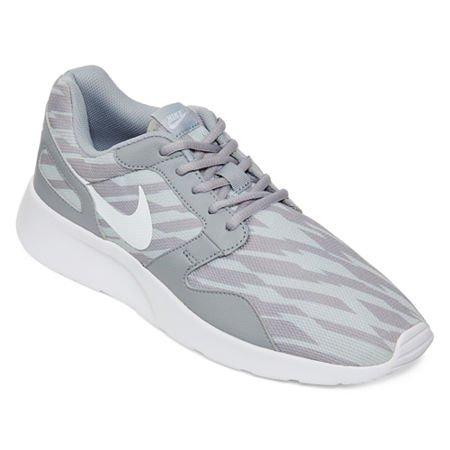 Nikekaishi Print - Chaussures De Course À Pied Pour Homme Gris Blanc
