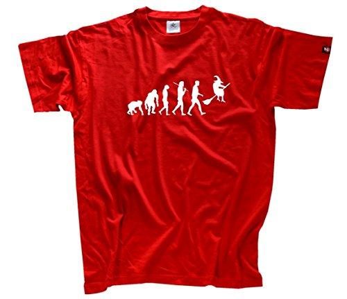 'Shirtzshop–Maglietta da uomo rosso