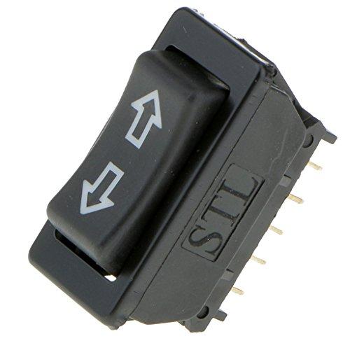 Gazechimp 12V 20A Universal Auto Fensterheberschalter Wippe Automatik Elektrisch