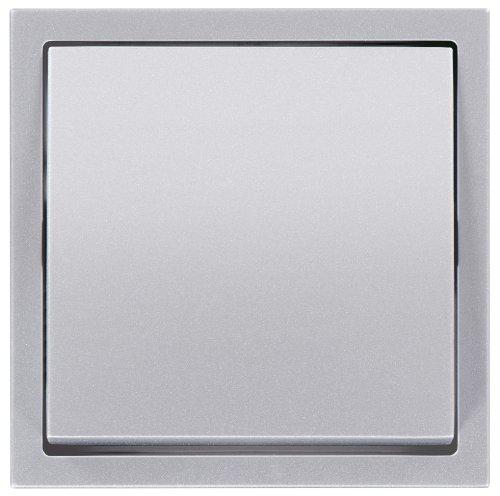 Preisvergleich Produktbild PEHA 00053411 Nova brillance Wippe für 500-er Grundelement, Wechsel-, Kreuzschalter, Taster neutral, alu