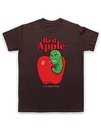 Red Apple Cigarettes Tarantino Fake Brand T-Shirt des Hommes