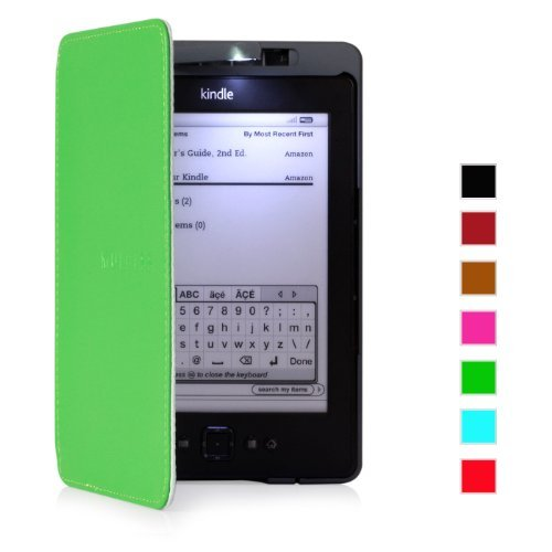mulbess-amazon-kindle-4-lighted-genuine-leather-case-cover-with-built-in-led-light-green