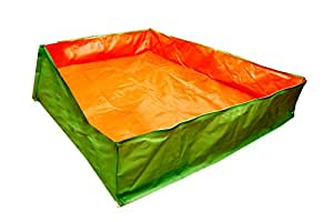 BIO Blooms Agro India PVT LTD Grow Bag Very Big Tub 6'x4'x1' Feet for Gardening,200gsm, Uv Treated 4 to 5 Years Life, Less Weight, Easy to Use Pack of 1 Bio_10w