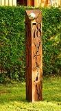 Gartendeko Rostsäulen Hausnummer 78 Säule