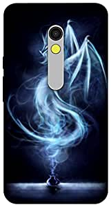 The Racoon Grip printed designer hard back mobile phone case cover for Motorola Moto X Play. (Song of Dr)
