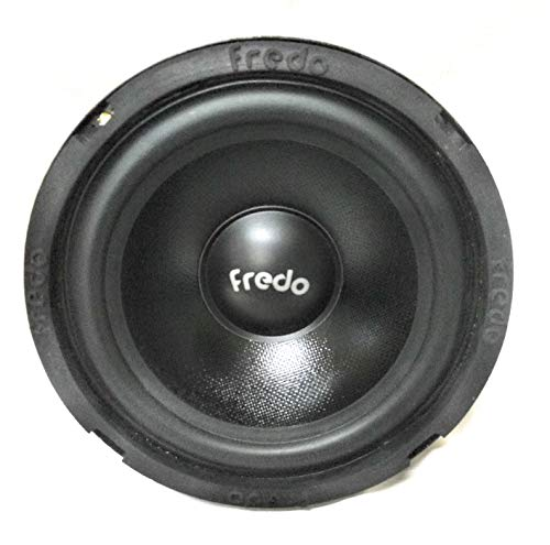 "FREDO 6"" Subwoofer Black PP Cone Pro Sound Box/Car/Home Theatre 8 Ohms/ 70 Watts"