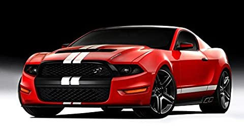 Ford Mustang Customized 43x24 inch Silk Print Poster Affiche de la Soie/WallPaper Great Gift
