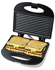 Pheebs Non-Stick Grill Sandwich Maker with Cool Touch Handl