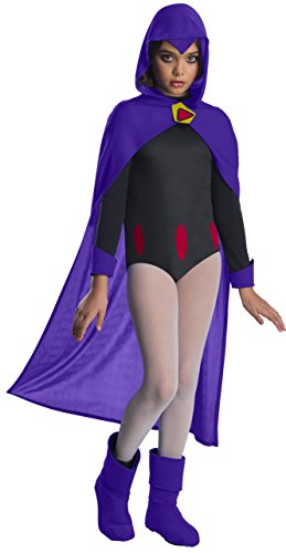 Rubie's Teen Titans Raven Child Fancy Dress Costume Large