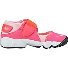 new concept 229be a2890 Nike AIR RIFT Junior Sandales et Nu-Pieds Filles Rose Sandales et Nu-Pieds