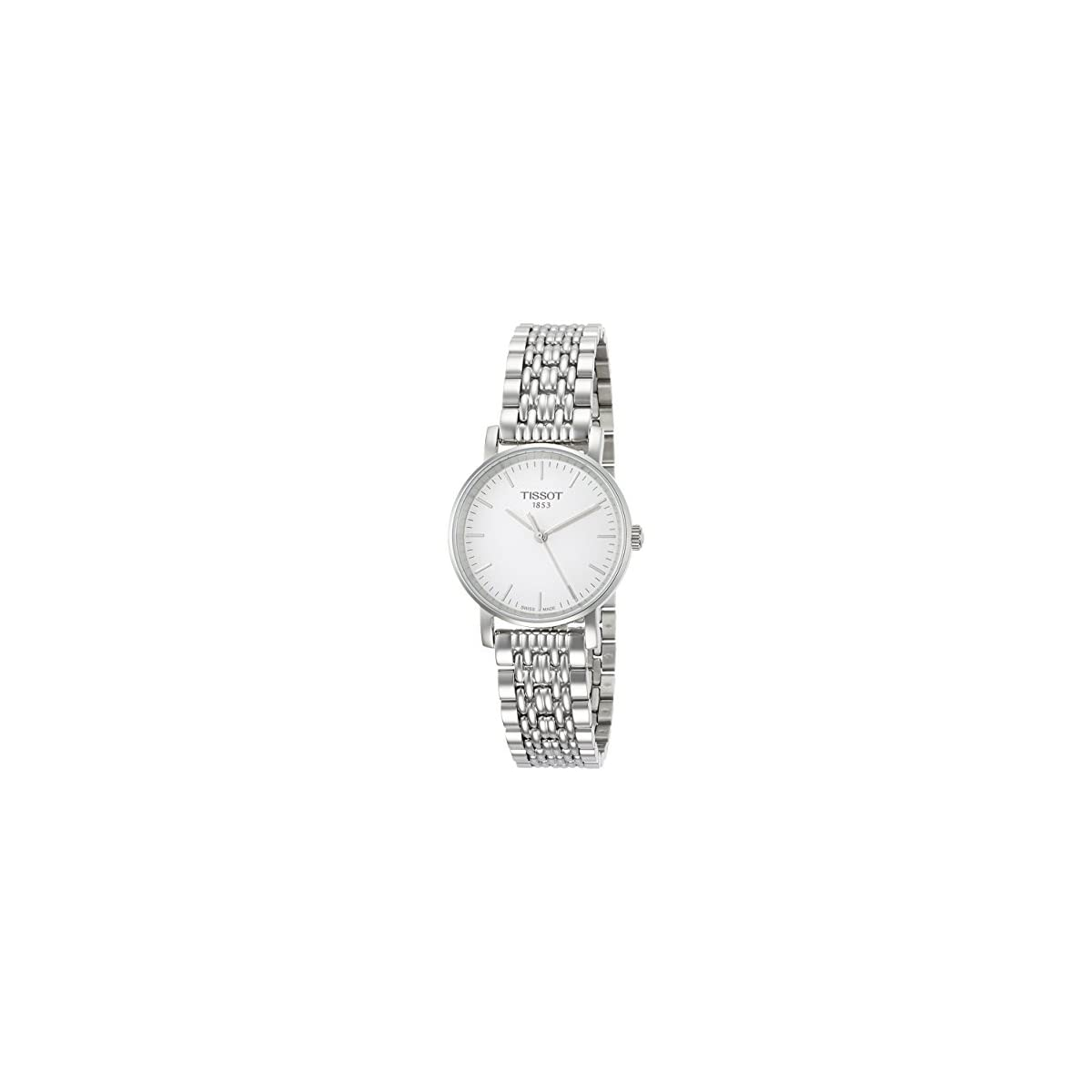 413Xl4V%2BEIL. SS1200  - Tissot Reloj Analógico para Mujer de Cuarzo con Correa en Acero Inoxidable T1092101103100