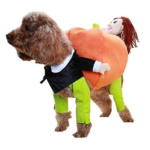 CWZJ Weihnachten Halloween fantasievolle Kostüm für Haustier Hund -