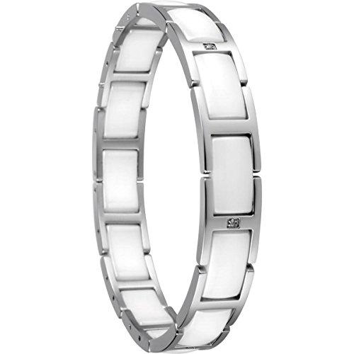 BERING Damen-Gliederarmband Edelstahl 602-15-185