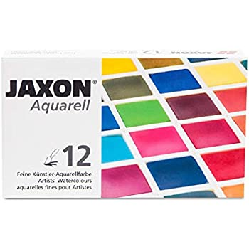Honsell 89912 Jaxon Aquarell Feine Kunstler Aquarellfarbe Im Set
