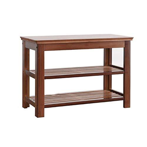 Cjc scaffale multifunzione può muoversi bambù giardino sgabello da banco shopping mall scaffali (dimensioni : t1)