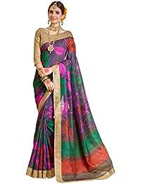 Samskruti Sarees Raw Silk Saree (Sleesa-117_Multicolor)