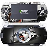 Sony PSP 1000 Design Skin Folie Aufkleber - BMW E92 M3 - Silver Sunlight