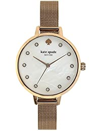 Kate Spade Analog White Dial Women's Watch-KSW1492