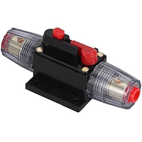Crazo DC 12-36V 30A Disyuntor Cortacircuitos Circuit Breaker Fusible Protección para Audio Estéreo Coche Barco RV Sistema Eléctrico