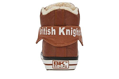 British Knights Roco, Baskets Basses Homme COGNAC