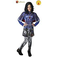 Los Descendientes - Disfraz Evie Deluxe, para niños, talla L (Rubie's 620373-L)