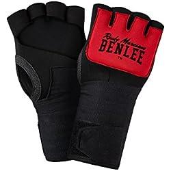 BENLEE Rocky Marciano Neoprenbandage Gelglo, Schwarz/Rot, M
