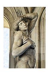 Michelangelo - The Dying Slaves c. 1513 Detail Print 60x91.5cm