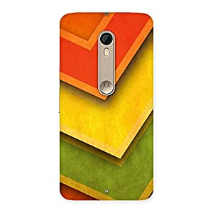 Stylish Multicolor Merge Back Case Cover for Motorola Moto X Style