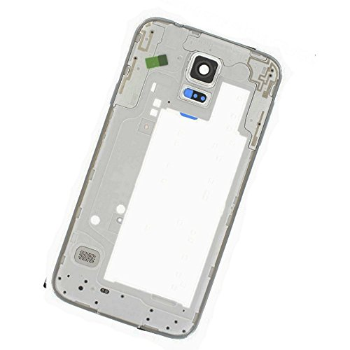 FRAME CORNICE LATERALE MIDDLE PLATE TELAIO CENTRALE COMPLETO TASTO ON OFF VOLUME per Samsung G903 G903F Galaxy S5 NEO