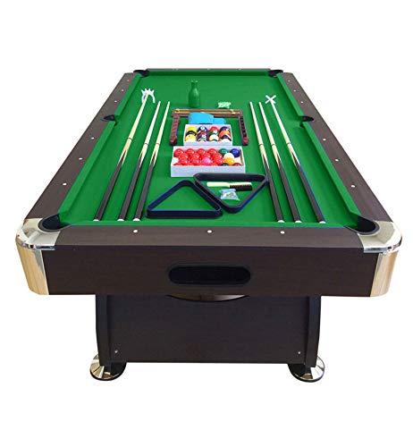 TAVOLO DA BILIARDO 8 piedi - misura di gioco 220 x 110 cm + ACCESSORI PER CARAMBOLA - SNOOKER VERDE billiard table Modello Vintage Verde