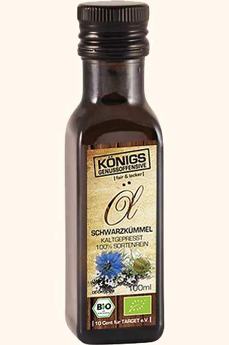 Schwarzkümmelöl, BIO, kaltgepresst aus vollreifem Samen, GO!, 250ml - Bremer Gewürzhandel (Natürliche Schwarze Samen-öl)