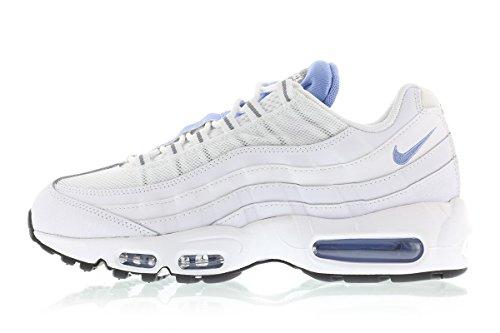 Nike Herren Air Max 95 Essential Turnschuhe, Grau Weiß (Weiß (Weiß/Chalk Blue-Stealth))