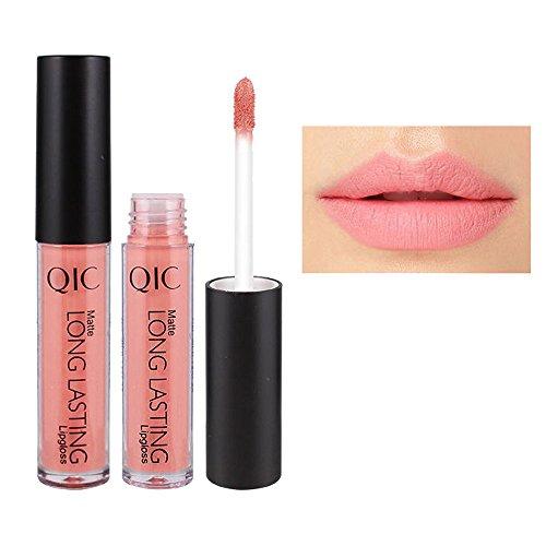 Brillant à lèvres, GreatestPAK Liquide à lèvres imperméable longue durée mat 12 couleur (10#)
