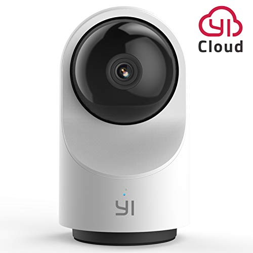 YI Caméra Surveillance WiFi Dôme X, Caméra IP Wi-FI Full HD 1080p alimenté par AI, Détection de Personnes, Analyse du Son, Récupération d'images, Time Lapse - Service Cloud Disponible