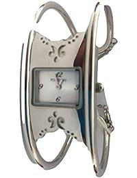 Fontenay Montre analogique en acier à quartz en acier