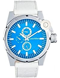 Reloj hombre Louis Villiers en acero azul 45 mm lvag3733 – 5