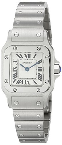 Cartier-Womens-Steel-Bracelet-Case-S-Sapphire-Swiss-Quartz-White-Dial-Analog-Watch-W20056D6