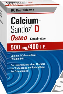 D3 Kautabletten (Calcium-Sandoz D Osteo 50 100 stk)