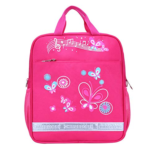 Flyty Kinder Mini Sling Taschen Teen Kids Butterfly Rucksäcke für Grils Boys School Hand Bags Rose