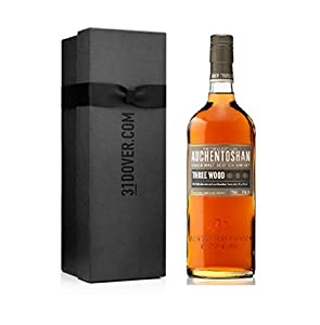 Auchentoshan Three Wood Whisky, 70cl in Elegant Gift Box from Auchentoshan
