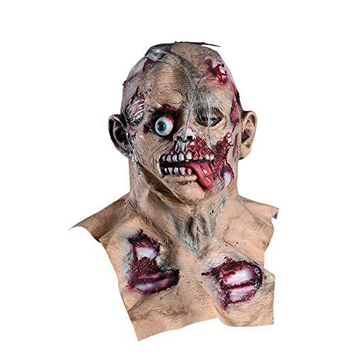 Augapfel Maske Kostüm - YUJJ Halloween Masken Gruselig Zombie Maske