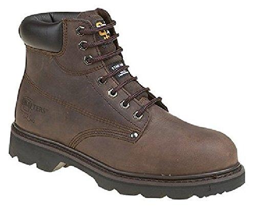 Grafters , Chaussures de sécurité pour homme Marron - marron