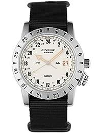 Glycine Airman 1953 Vintage - Reloj automático, correa de tela color negro