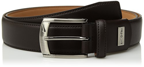 Nike da uomo G-flex Feather Edge Belt Cintura - marrone - 32