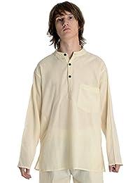 HEMAD Herren Hemd Fischerhemd S-XXXL reine Baumwolle