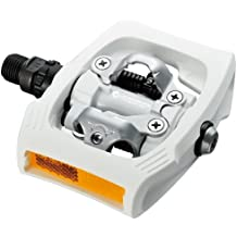 Shimano Pedales PDT400WR - Pedales T400 Blanco C/r Click R