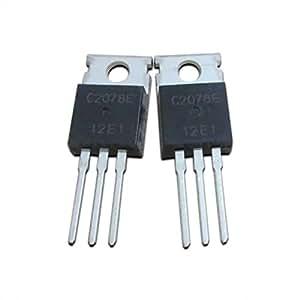 Goliton 5pcs / lot 2SC2078 C2078 80V 3A TO-220 a transistor