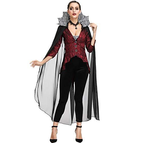 Teufels Damen Königin Kostüm - AIXIAOYU Cosplay Kostüme Königin Bühnenkostüme Halloween Kostüme Hexenkostüme Vampir Teufel