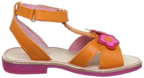 Agatha Ruiz De La Prada 132951A, Sandales fille Orange (Naranja)