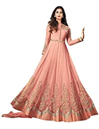 a0004c3da3a Amazon.in  Anarkali - Dress Material   Ethnic Wear  Clothing ...